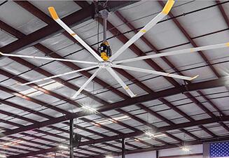 Big Ass – большой потолочный вентилятор производства США. Гарантия - от 3 лет.