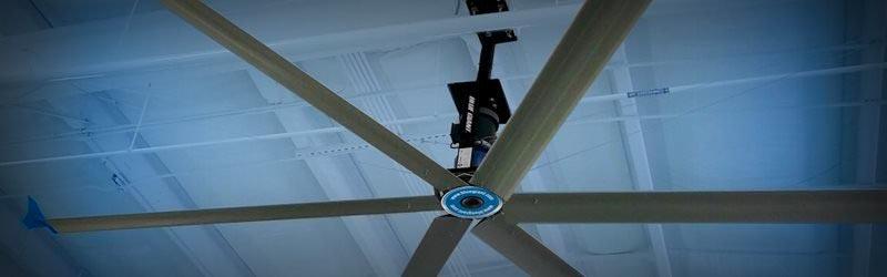 Большой потолочный вентилятор Blue Gaint с гарантией от 2 лет. Срок поставки от 8 недель.