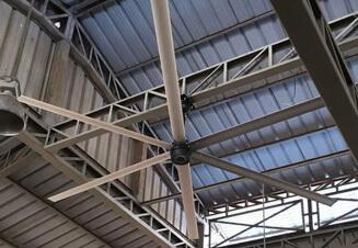 MacroAir – большой потолочный вентилятор производства США. Гарантия – от 3 лет.
